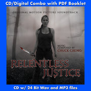 RELENTLESS JUSTICE - Original Soundtrack (CD comes with Free Digital Download/Digital booklet)