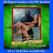 THE RETURN OF SWAMP THING- Original Soundtrack (CD comes with Free Digital Download/Digital booklet)