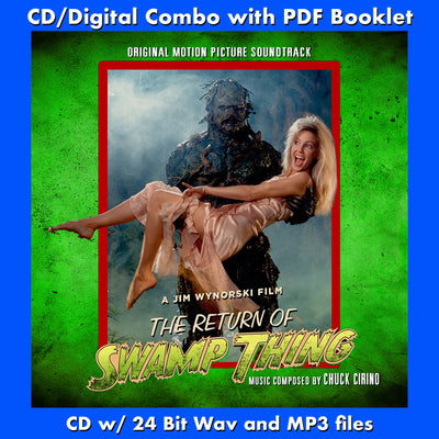 THE RETURN OF SWAMP THING-Original Soundtrack by Chuck Cirino