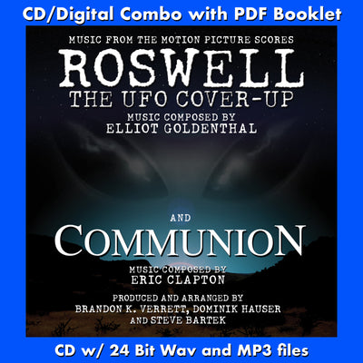 ROSWELL / COMMUNION - Music composed by Elliot Goldenthal and Eric Clapton (W/Free Digital Download/Digital booklet)