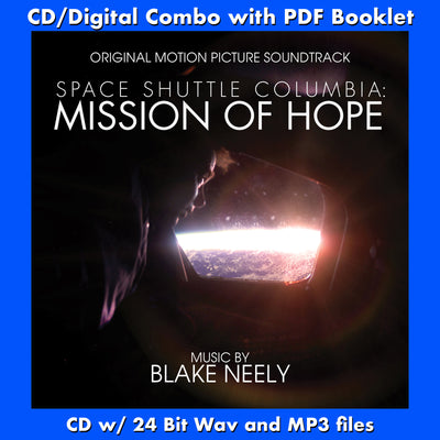 SPACE SHUTTLE COLUMBIA: MISSION OF HOPE-Original Soundtrack (W/Free Digital Download/booklet)