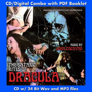 THE SATANIC RITES OF DRACULA - Original Soundtrack by John Cacavas