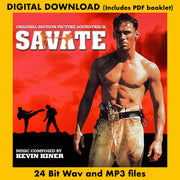 SAVATE (Original Soundtrack Recording)  (Digital Album - 24 Bit Wav, MP3, PDF booklet)