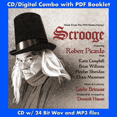 SCROOGE - Music from the 1970 Motion Picture (W/Free Digital Download/Digital booklet)
