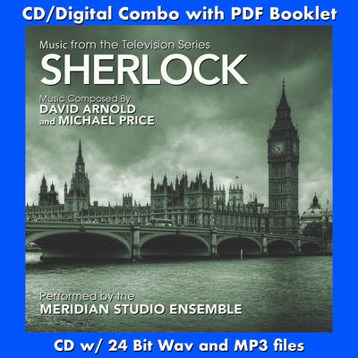 SHERLOCK -  Music from the Television Series (CD comes with Free Digital Download/Digital booklet)