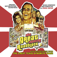 THE GREAT TEXAS DYNAMITE CHASE / THE GREAT SMOKY ROADBLOCK-Original Soundtracks