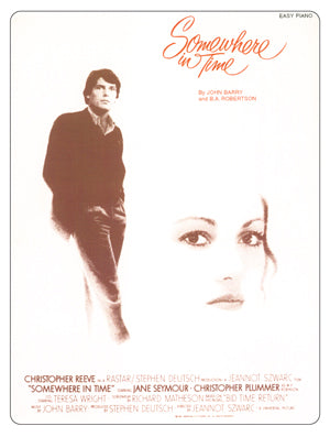 SOMEWHERE IN TIME - Sheet Music for piano - music by John Barry