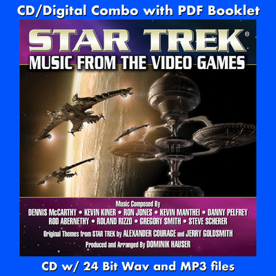 STAR TREK: MUSIC FROM THE VIDEO GAMES - (W/Free Digital Download/Digital booklet)