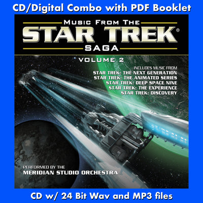 MUSIC FROM THE STAR TREK SAGA VOL. 2 - (CD comes with Free Digital Download/Digital booklet)