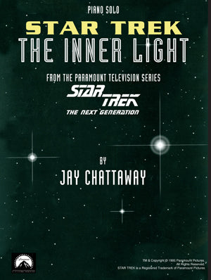 STAR TREK: The Inner Light theme for Solo Piano - Sheet Music by Jay Chattaway