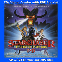 STARCHASER:- Original Soundtrack (W/Free Digital Download/Digital booklet)