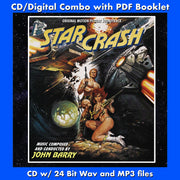 STARCRASH-Original Soundtrack by John Barry (W Free Digital Download/Digital booklet)