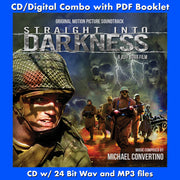 STRAIGHT INTO DARKNESS - Original Soundtrack by Michael Convertino (CD comes with Free Digital Download/Digital booklet)