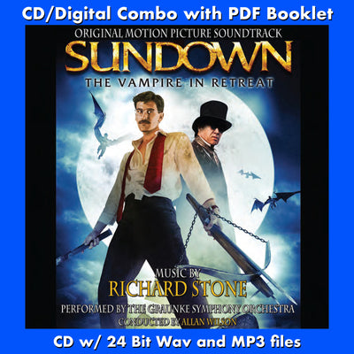 SUNDOWN: THE VAMPIRE IN RETREAT - Original Soundtrack (W/Free Digital Download/Digital booklet)
