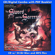 THE SWORD AND THE SORCERER - Original Soundtrack (CD comes with Free Digital Download/Digital booklet)