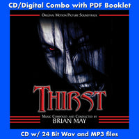THIRST - Original Soundtrack (CD comes with Free Digital Download/Digital booklet)