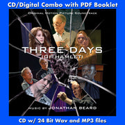 THREE DAYS OF HAMLET - Original Soundtrack by Jonathan Beard