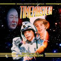 TIMEMASTER - Original Soundtrack by Harry Manfredini (CD comes W/Free Digital Download/Digital booklet)