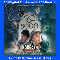 TRANSYLVANIA 6-5000 / KORGOTH OF BARBARIA-Soundtracks(W/Free Digital Download/Digital booklet)