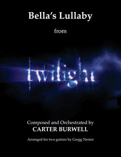 "TWILIGHT: ""Bella's Lullaby"" - Sheet Music for Guitar"