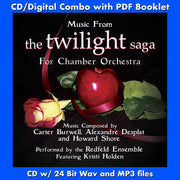 MUSIC FROM THE TWILIGHT SAGA FOR CHAMBER ORCHESTRA (W/Free Digital Download/Digital booklet)