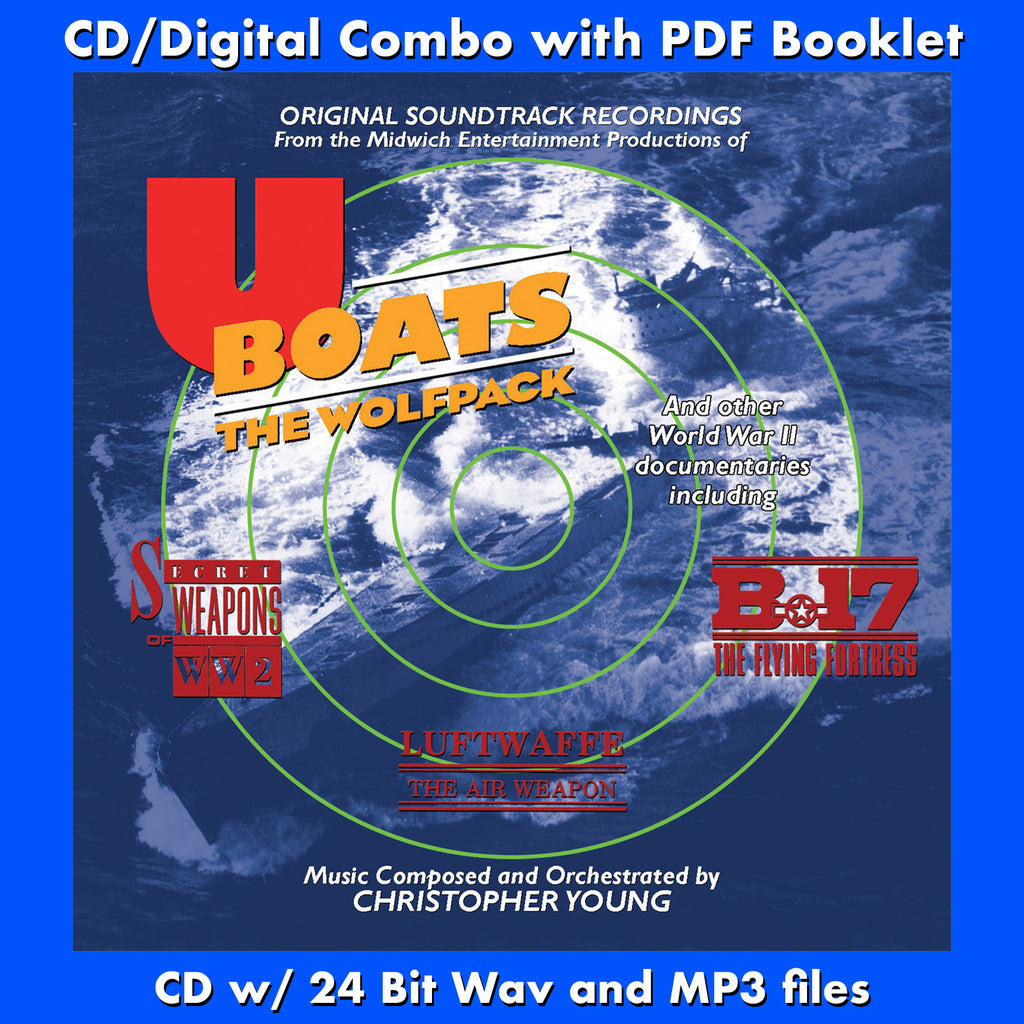 U-BOATS: THE WOLFPACK - Original Soundtrack (CD comes with Free ...