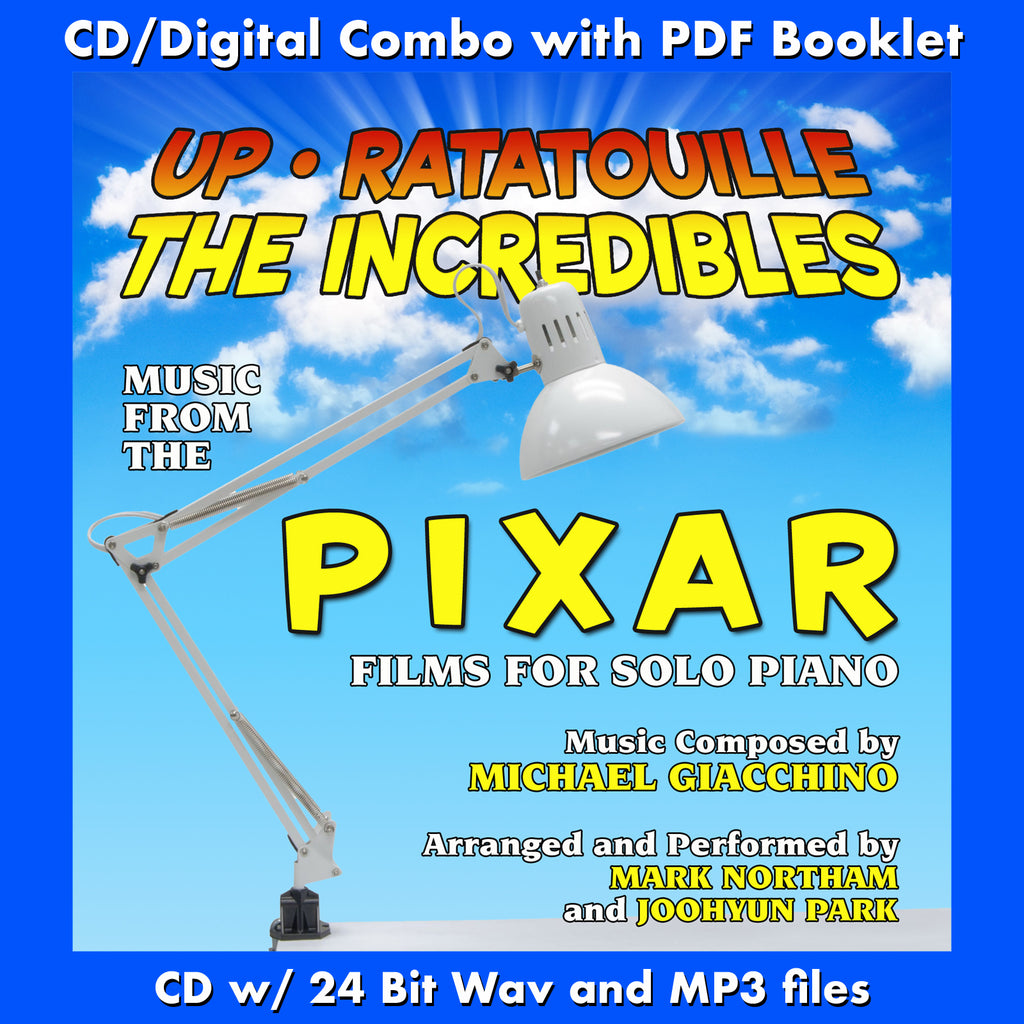 UP, RATATOUILLE AND THE INCREDIBLES: Music for Solo