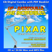 UP, RATATOUILLE AND THE INCREDIBLES: Music for Solo (W/Free Digital Download/Digital booklet)