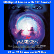 WARRIORS OF VIRTUE - Original Soundtrack by Don Davis (W/Free Digital Download/Digital booklet)