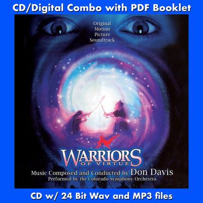 WARRIORS OF VIRTUE - Original Soundtrack by Don Davis