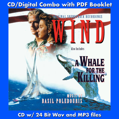 WIND / A WHALE FOR THE KILLING-Original Soundtracks (W/Free Digital Download/Digital booklet)