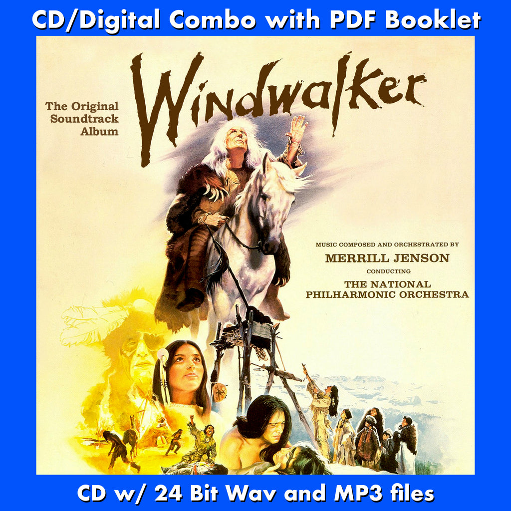 WINDWALKER - Original Soundtrack by Merrill Jenson