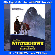 WINTERHAWK - Original Soundtrack by Lee Holdridge (CD comes with Free Digital Download/Digital booklet)