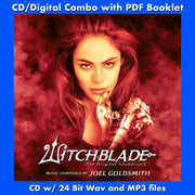 WITCHBLADE - Original Soundtrack Recording by Joel Goldsmith (CD comes with Free Digital Download/Digital booklet)