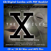 THE X FILES: A 20th ANNIVERSARY CELEBRATION - Music Composed by Mark Snow