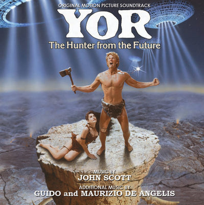 YOR, THE HUNTER FROM THE FUTURE - Original Soundtrack by John Scott & Guido and Maurizio De Angelis