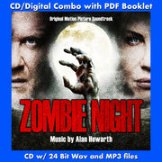 ZOMBIE NIGHT - Original Soundtrack by Alan Howarth (CD comes with Free Digital Download/Digital booklet)