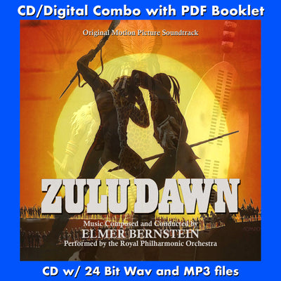 ZULU DAWN - Original Soundtrack (CD comes with Free Digital Download/Digital booklet)