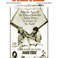 BORN FREE: Title Song by John Barry - Sheet Music