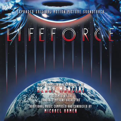 LIFEFORCE - Original Soundtrack by Henry Mancini and Michael Kamen