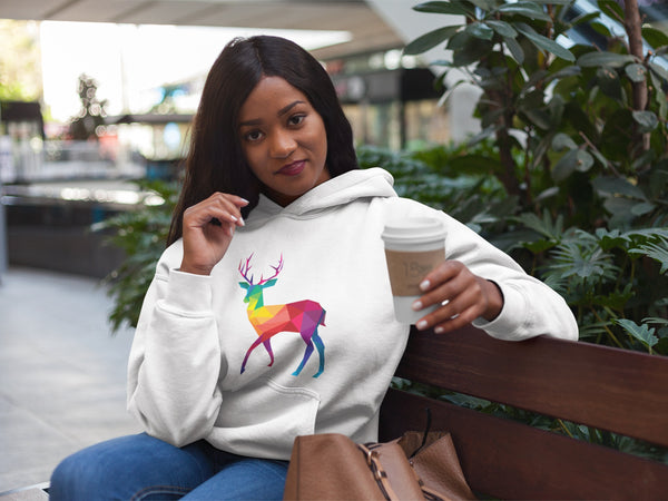 Colorful Christmas Reindeer Hoodie - BeUnique.co blog Animal Lovers Will Be Obsessed With These Fabulous Finds