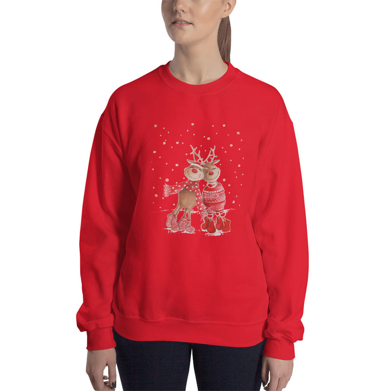 Reindeer in Love Sweatshirt