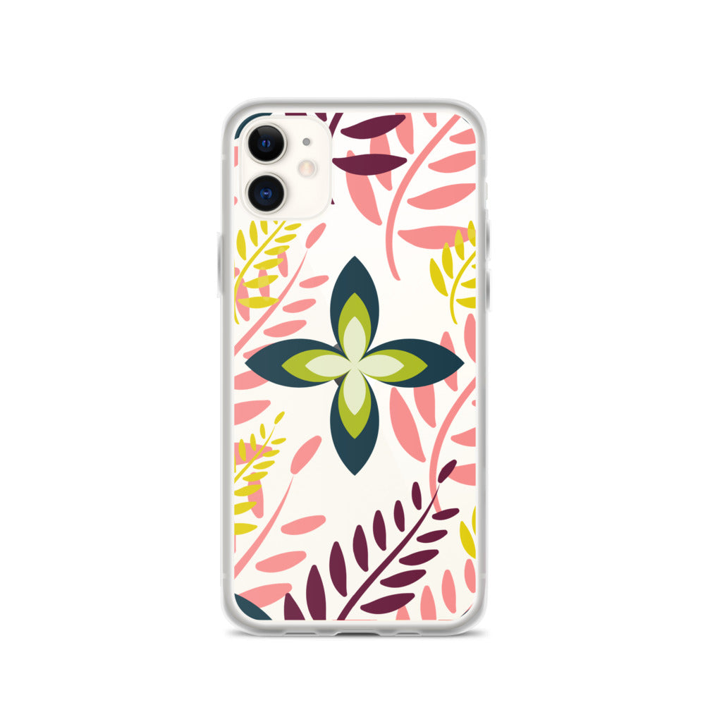 Geometric Blossom iPhone Case
