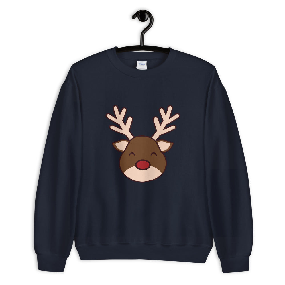 Winter Christmas Reindeer Sweater