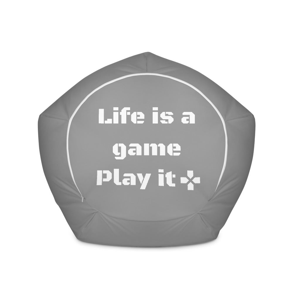 Bean Bag Chair for gaming | Life is a Game, Play it