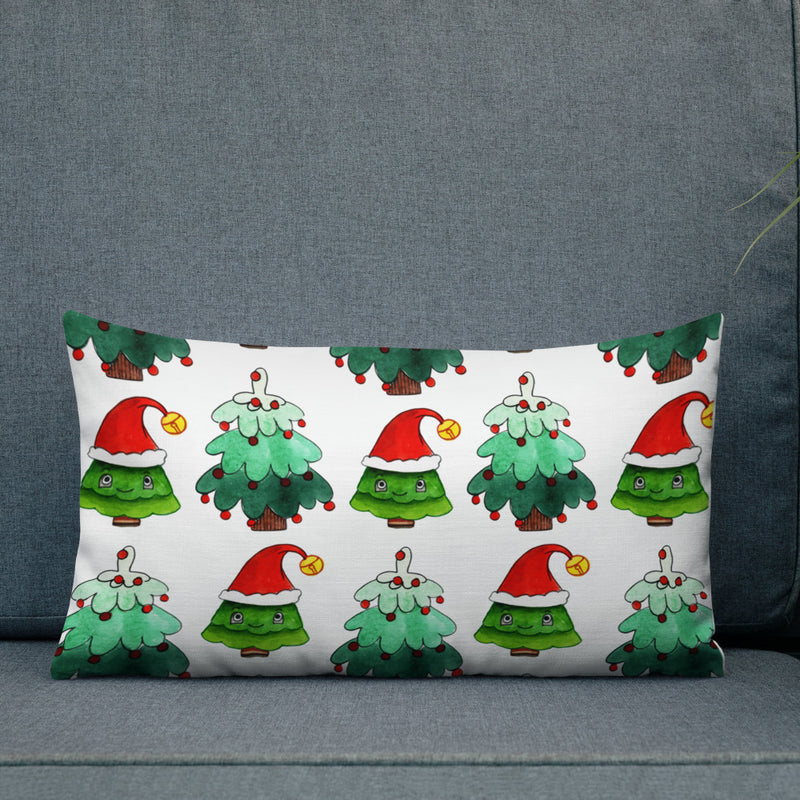 Christmas tree Premium Pillow