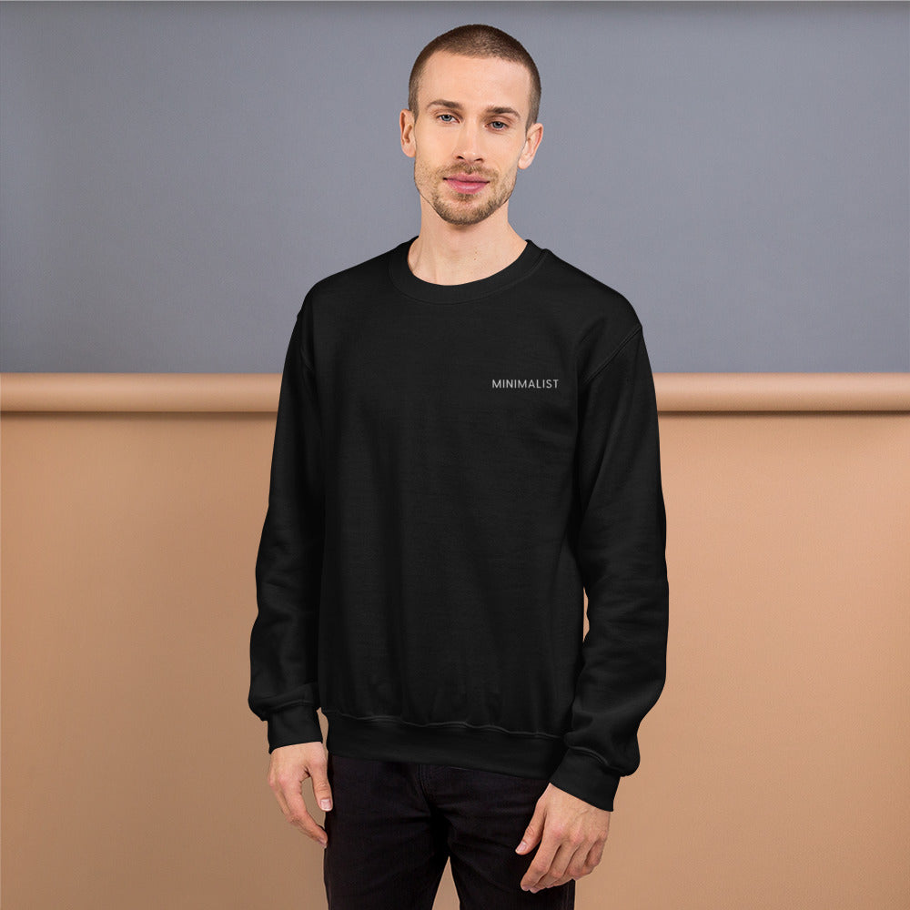 Embroidered minimalist Sweatshirt