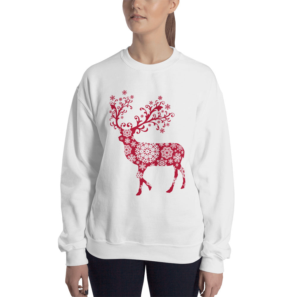 Beautiful Christmas Sweater with Reindeer