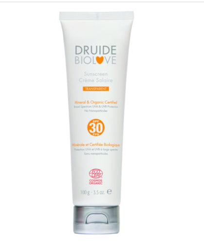 Sunscreen SPF 30 Natural Mineral + Organic Certified