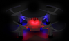 Image of 360° Mini drone with LED Light, Headless Mode & One Key Control - KayZ Pro